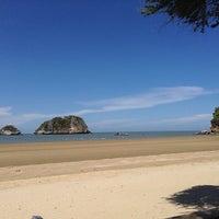 Photo taken at Brassiere Beach Resort by Inkkie N. on 5/14/2013