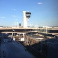 Photo taken at Philadelphia International Airport (PHL) by Rolando G. on 5/17/2013