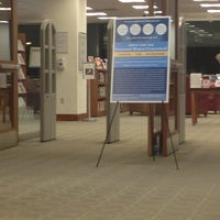 Photo taken at Beatley Library, Simmons College by Hannah I. on 10/23/2012