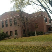 Photo taken at Lagomarcino Hall by Chelsea U. on 10/24/2012