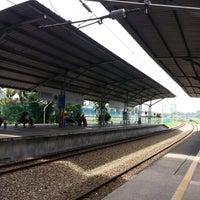 Photo taken at KTM Line - Bandar Tasik Selatan Station (KB04) by Yun N. on 4/27/2013