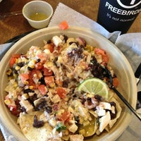Photo taken at Freebirds World Burrito by Santiago H. on 2/7/2013
