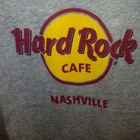 Photo taken at Hard Rock Cafe Nashville by Tom M. on 2/17/2013