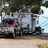 Photo taken at Lake Albert Caravan Park by Peter L. on 3/17/2014