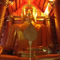 Photo taken at Wat Phananchoeng by Mumu A. on 12/30/2012