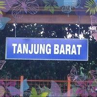 Photo taken at Stasiun Tanjung Barat by Dwiki S. on 10/24/2012