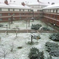 Photo taken at Sabancı Üniversitesi by Melis M. on 12/20/2012