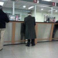 Photo taken at Banco Santander by Lore P. on 10/5/2012