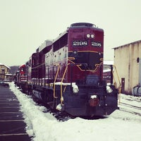 Photo taken at New Hope & Ivyland Railroad by DJ Wolf on 2/9/2014