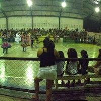 Photo taken at Ginasio de Esportes de Jaguaretama by Mayara B. on 6/20/2013