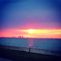 Photo taken at Howard Frankland Bridge by Steve G. on 4/15/2013