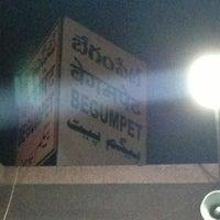 Photo taken at Begumpet Railway Station by Vivek on 2/26/2013