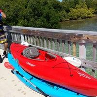Photo taken at Lignumvitae Key State Park by Amber K. on 4/5/2014