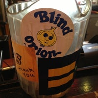 Photo taken at Blind Onion Pizza and Pub by Jay H. on 5/31/2013
