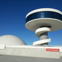 Photo taken at Oscar Niemeyer International Cultural Centre by Marcos M. on 10/21/2012