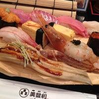 Photo taken at Umegaoka Sushi no Midori by Hikaru M. on 6/29/2013