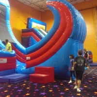 Photo taken at Pump It Up by Linda B. on 7/24/2015