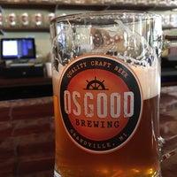 Photo taken at Osgood Brewing by Benjamin E. on 9/9/2016