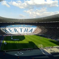 Photo taken at Olympiastadion by Steph C. on 8/24/2013