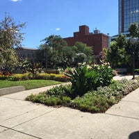 Photo taken at Freimann Square by Lee T. on 9/21/2015