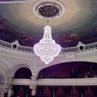 Photo taken at Teatro Municipal de Santiago by Alexis V. on 6/7/2013
