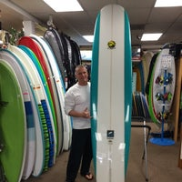 Photo taken at Freeline Design Surf Shop by Clayton CJ B. on 8/1/2014
