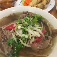 Photo taken at Pho Dau Bo Restaurant by DoYoon K. on 3/17/2016