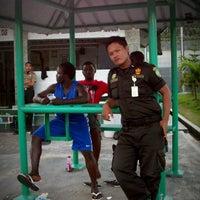 Photo taken at LAPAS Super Maximum Security Pasir Putih Nusakambangan by Assegaf A. on 10/9/2012