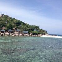 Photo taken at Koh Nang Yuan Dive Resort by Pay S. on 8/12/2016