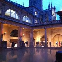 Photo taken at The Roman Baths by Akihasu L. on 11/1/2012