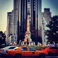 Photo taken at Columbus Circle by Rebecca B. on 6/22/2013