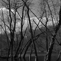 Photo taken at Muckshaw Pond by Rebecca B. on 3/27/2013