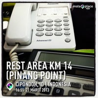 Photo taken at Rest Area KM 14 (Pinang Point) by Arthur W. on 3/21/2013