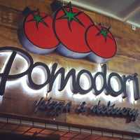 Photo taken at Pomodori Pizza by Camila R. on 6/3/2013