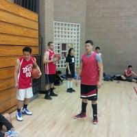 Photo taken at Walnut Gymnasium - Teen Center by Raymond R. on 1/18/2013