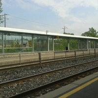 Photo taken at Burlington GO Station by Denise T. on 5/23/2013