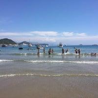 Photo taken at Sunj Lopud Beach by Elisaveta B. on 7/5/2016