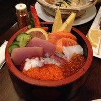 Photo taken at Aki Japanese Restaurant by Eric D. on 2/15/2013