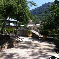 Photo taken at Hotel Du Poete Fontaine-de-Vaucluse by Aurélie J. on 8/4/2013
