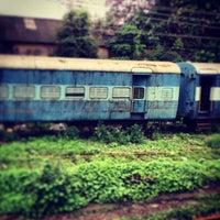 Photo taken at Matunga Railway Station by Sumeet S. on 7/13/2013