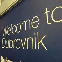 Photo taken at Dubrovnik Airport (DBV) by Yoshita H. on 10/25/2014