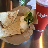 Photo taken at Qdoba Mexican Grill by Matheus O. on 9/26/2014