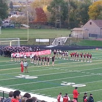 Photo taken at Boulder High School Stadium by Mary H. on 10/26/2013
