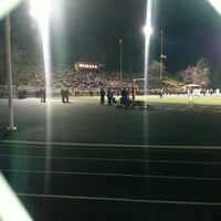 Photo taken at Boulder High School Stadium by Mary H. on 11/16/2013