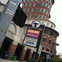 Photo taken at MBTA Back Bay Station (BBY) by Gregory L. on 9/21/2012