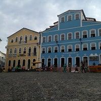 Photo taken at Largo do Pelourinho by Emi V. on 11/21/2012