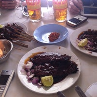 Photo taken at Sate & Gule Kambing *29* Jatingaleh Smg by Noni R. on 1/22/2014