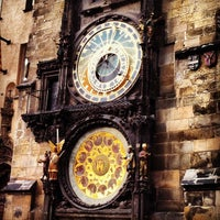 Photo taken at Prague Astronomical Clock by Flavia G. on 11/4/2012