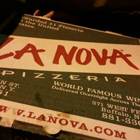 Photo taken at La Nova Pizzeria by Bran M. on 11/23/2014
