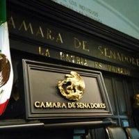 Photo taken at Antigua Sede del Senado de la República by Hutch C. on 8/4/2014